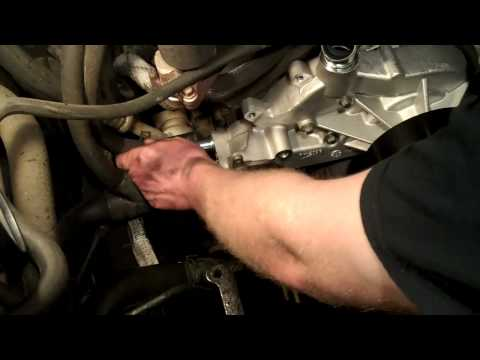 LS Type Vortec V8 Water Pump Replacement  (part 2)