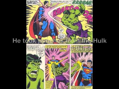 Superman Prime vs Superman Pre Crisis Pre-crisis Superman Features