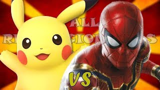 Pikachu VS Spider-Man l Batallas Revolucionarias Rap l T. Final