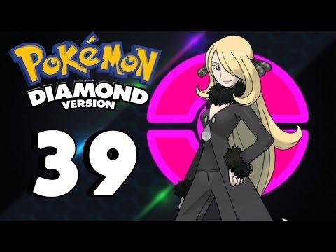 "Let's Play - Pokemon Diamond (Episode 39) ""Champion Cynthia: Sinnoh's Strongest Trainer!"" thumbnail"