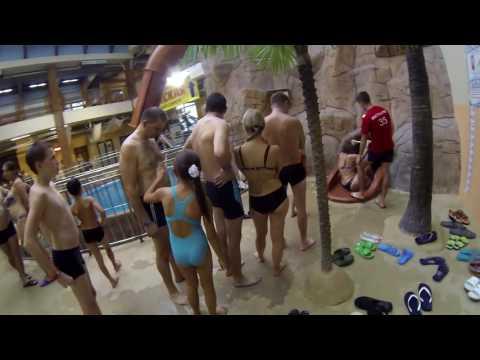 Поездка в аквапарк Ривьера в Казани.
