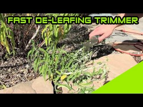 Trim'R-matic- Electric HandHeld Flower Bud Trimmer: Review New Leaf Trimmer   Trimmer Matic