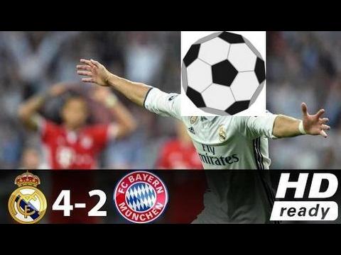 Real Madrid vs Bayern Munich 4-2 All Goals & Full Highlights - Champions League - 18042017 HD