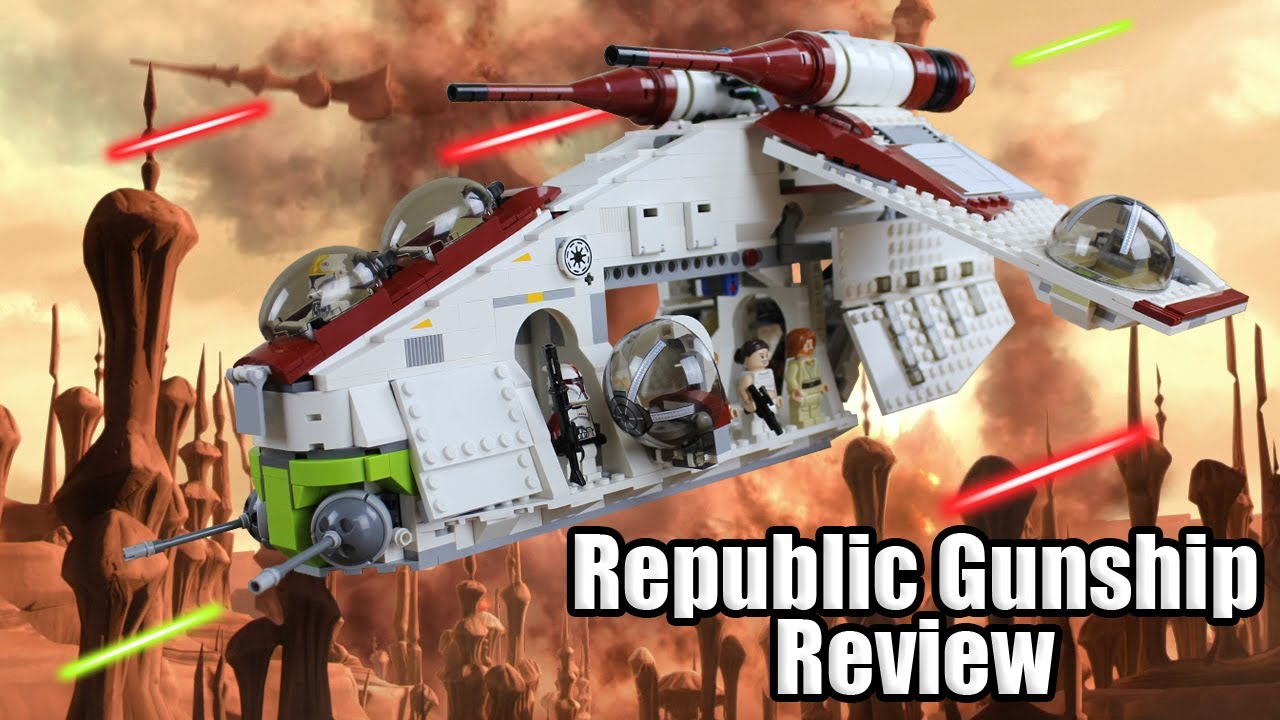 Lego Star Wars Custom Republic Gunship Lego Star Wars Republic