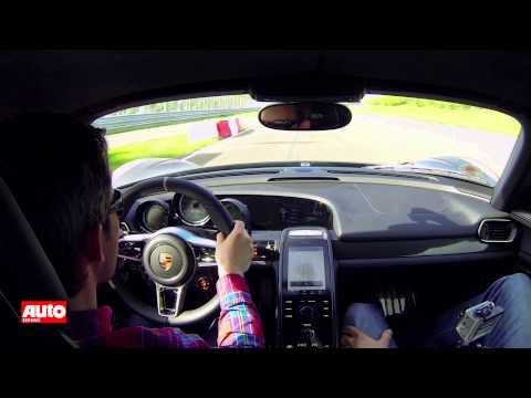 Onboard: Porsche 918 Spyder auf Teststrecke in Leipzig
