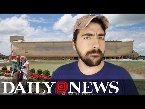 Liberal Redneck: $100-million Kentucky 'Ark' is ridiculous