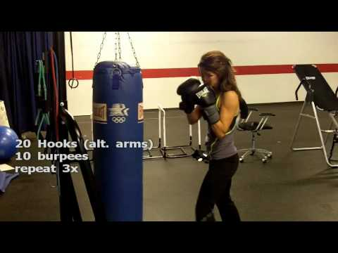 Heavy Bag Workout with Jessica Image 1