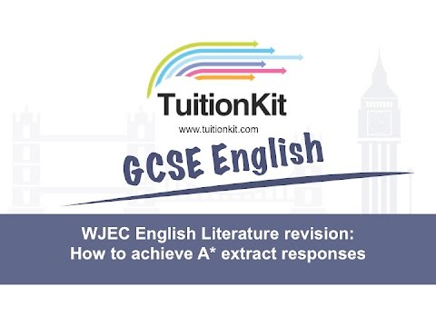 structure gcse english lit essay