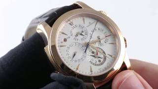 Jaeger-LeCoultre Master Grand Reveil Q163242A Luxury Watch Review
