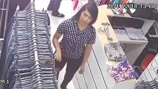 Novo vídeo assaltante Vitória da Conquista loja