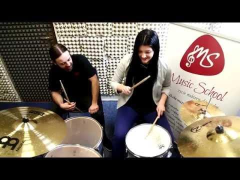 Nauka Gry Na Perkusji Warszawa- Music School