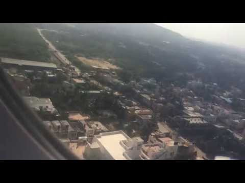 Indigo airlines 6E285 landing in chennai airport