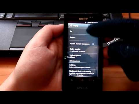 Sony Xperia Sola - ICS Glove Mod