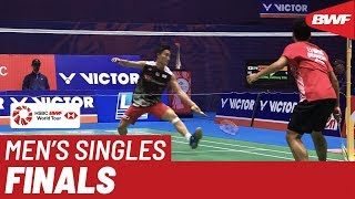 F | MS | Kento MOMOTA (JPN) [1] vs. Anthony Sinisuka GINTING (INA) [7] | BWF 2019