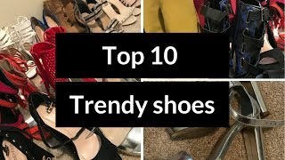 HUGE SHOE HAUL! 15 Shoe Trends, Heels, Boots, Flats, Sandals - 2017 Shoe Trends