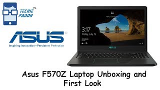 Asus F570Z Laptop Unboxing and First Look