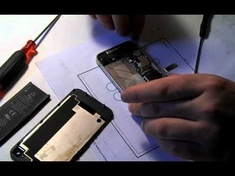 iPhone 4s water damage repair