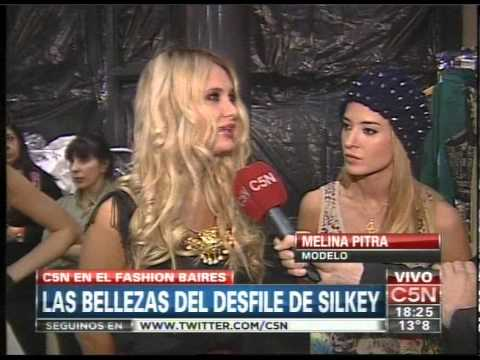 C5N - FASHION BAIRES: LA PREVIA DEL DESFILE DE SILKEY (PARTE 2)
