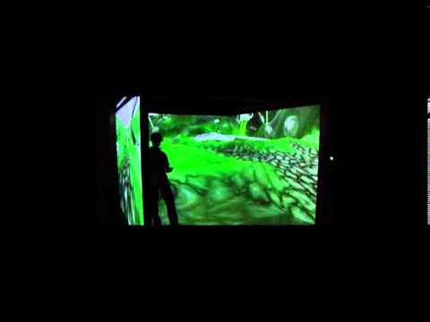 CaveUT 2.5 -Alternative Reality Environment - Artistic Installation