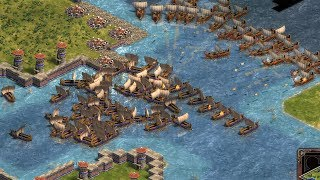 THE PUNIC WARS - Age of Empires: Definitive Edition (4K Gameplay)