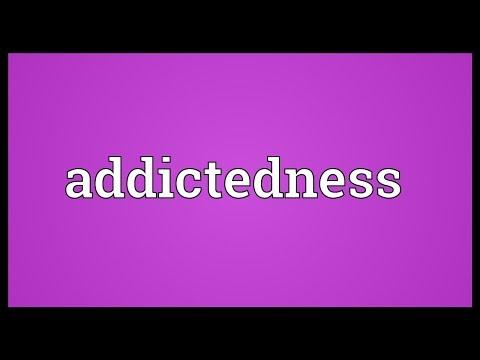 Header of addictedness