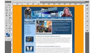 Create Your Own PSD Photoshop CS4 Template Layout Lesson1