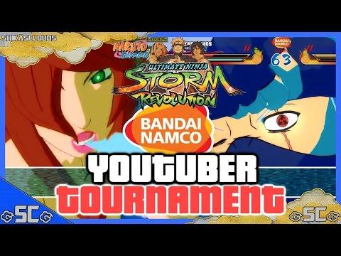 ●bandai Namco Youtube Tournament | Youtubetr0ll Vs Shikasclouds [finals] | Naruto Revolution● video