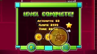 Geometry Dash Cant Let Go, ALL COINS