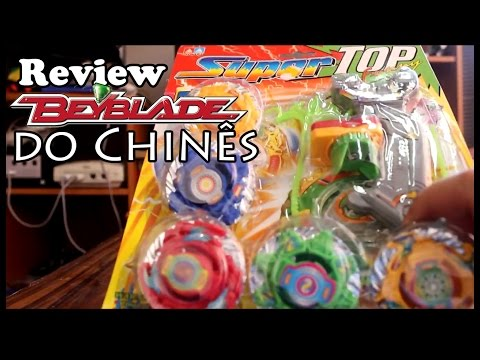 Review Beyblades Falsos (Super Spin TOP Funny)