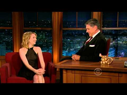 Emma Roberts on Craig Ferguson 07.30.2012 HD