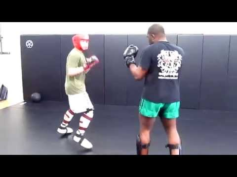 Tang Soo Do vs Muay Thai at OC Open Martial Arts Sparring Image 1