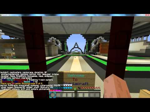 Minecraft Cracked Server Review   OP FACTIONS   1.7.9