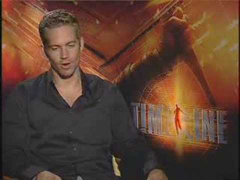 Paul Walker Interview Video