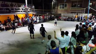 Ecuavoley, 2016 final Paul vs Policia #1