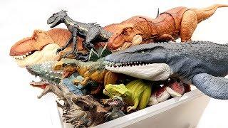 What's in the Box : Jurassic World2 Fallen Kingdom Toys, Action Figures, Schleich Dinosaur Toys