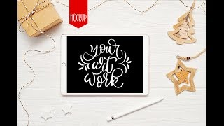 Ipad mock up. work with smart object