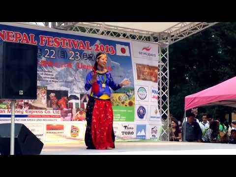 Sun ko bhau cha suntala by Tina Dangol at Nepal festival 2013 ueno park