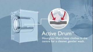ASKO Family Size Laundry - Active Drum Animation