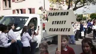 SBV Jahr Der Klarinette - Flashmob Street Clarinets