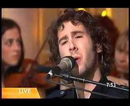 Josh Groban -February Song Sunrise Program pt1