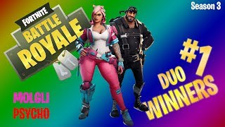 FIRST DUO WIN w/ Pyscho  - Fortnite Battle Royale (PC Gameplay)