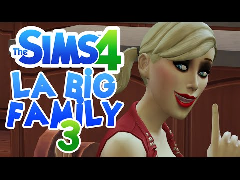 SIMS 4 #LABIGFAMILY (PART 3) ♦ Baston dans la maison !