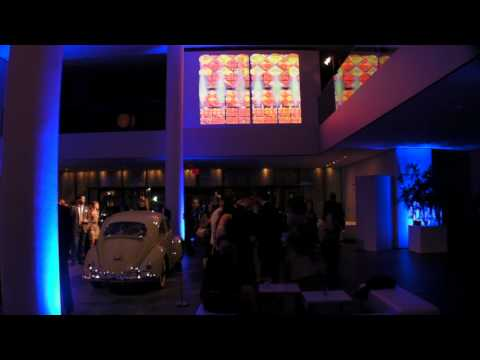MoMA VW Gala After Party - Live Video Projection Design -- Paul Clay