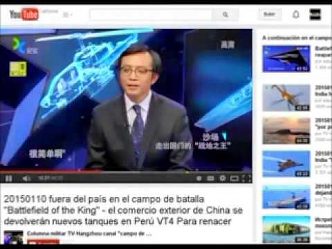 Tanques Chinos Regresan al Perú Esta Vez Son Los MBT3000