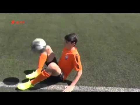 Fc Barcelona хочет подписать 14 летнего защитника из Шахтёра