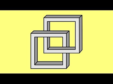 Видео как нарисовать иллюзию на бумаге