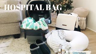 WHAT'S IN MY HOSPITAL BAG 2018