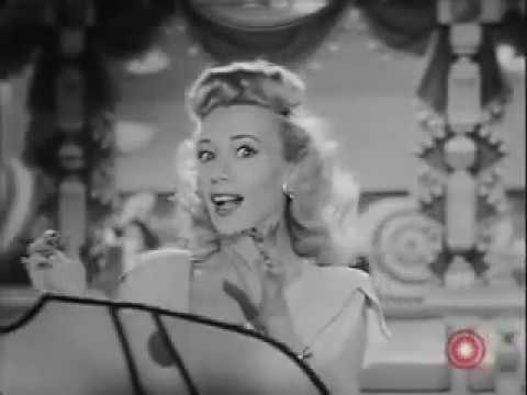Carole Landis Sings I'm Your Pin-Up Girl