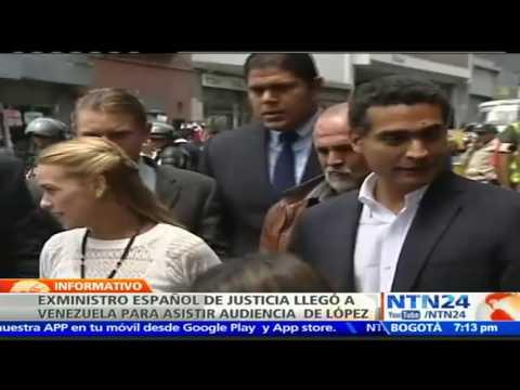Exministro español de Justicia se incorpora a la defensa de Leopoldo López