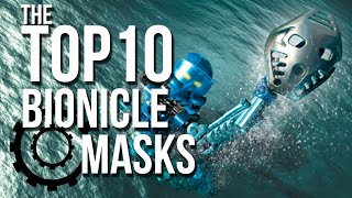 The Top 10 BIONICLE Masks